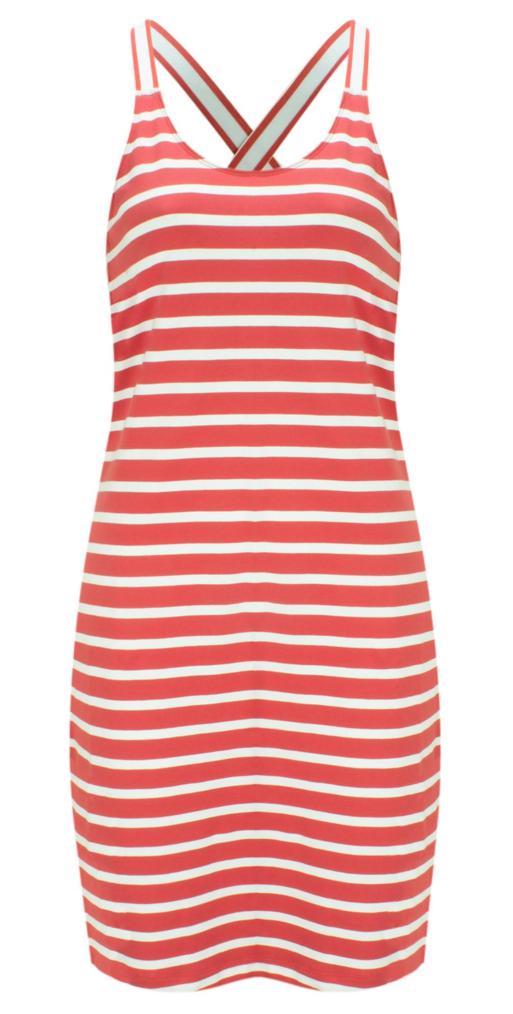 Jersey Striped Longline Vest main image