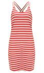 Sandwich Clothing Summer Rose Jersey Striped Longline Vest
