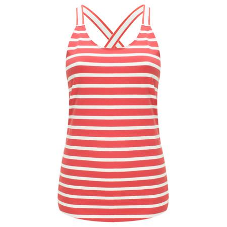Sandwich Clothing Essentials Jersey Striped Vest - Pink