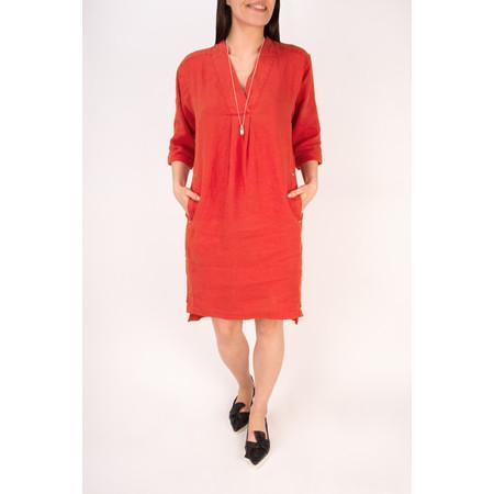 Sandwich Clothing Linen Tunic Dress - Pink