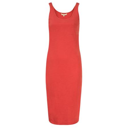 Sandwich Clothing Slub Jersey Dress With Pocket - Pink