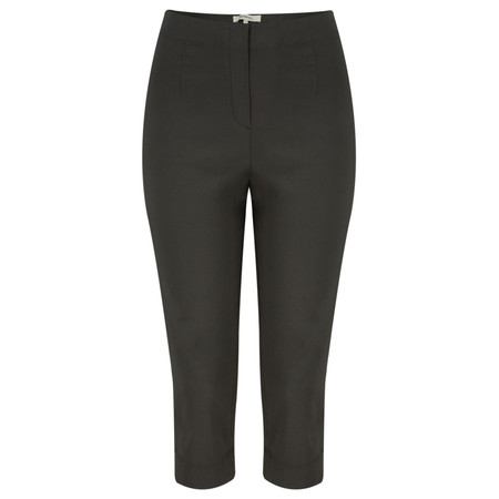 Sandwich Clothing Stretch Cropped Casual Trouser - Black