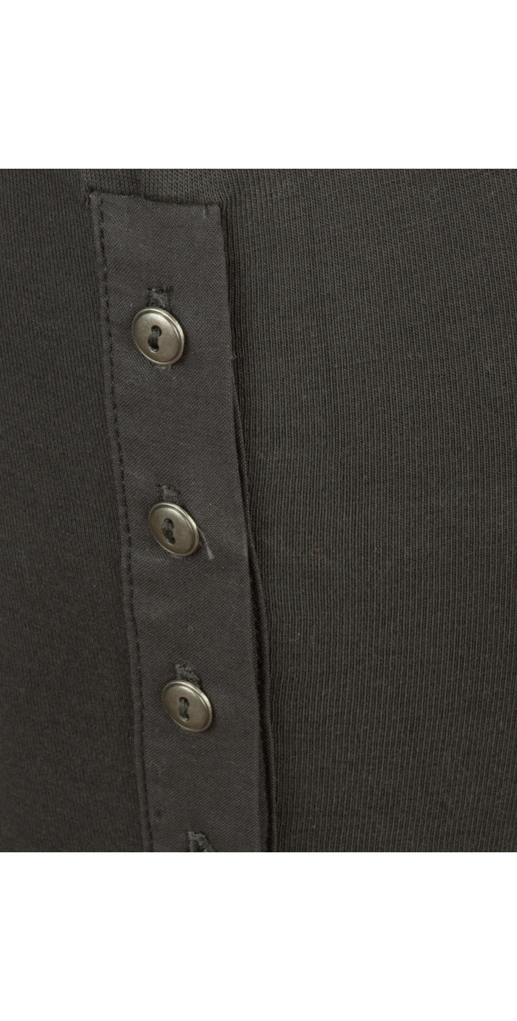 Jersey Button Detail Legging  main image