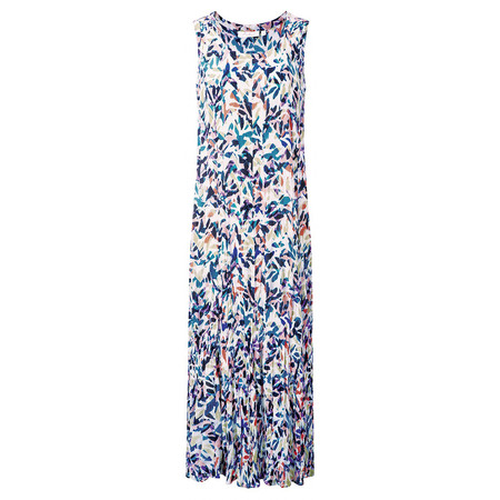 Adini Latino Print Latino Dress - Multicoloured