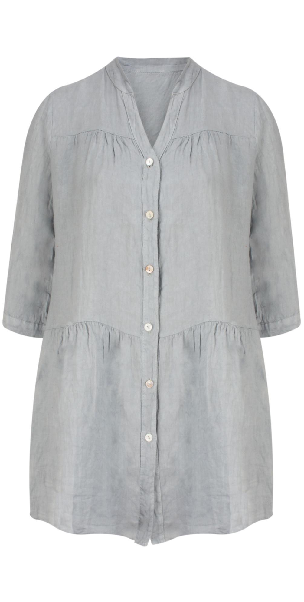 Della Oversized Tunic Shirt main image