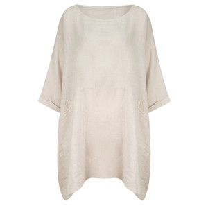 TOC  Dessie Oversized Tunic with Pocket