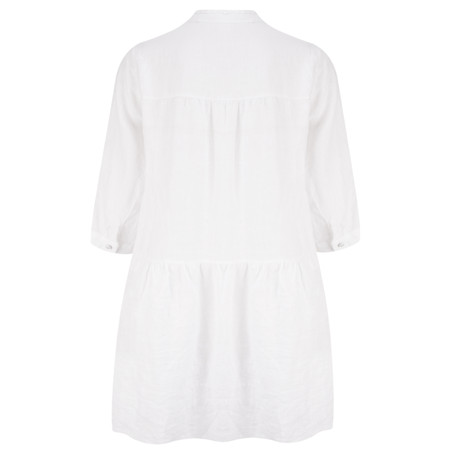 TOC  Della Oversized Tunic Shirt - White