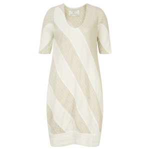Grizas Linen Panelled Tunic Dress
