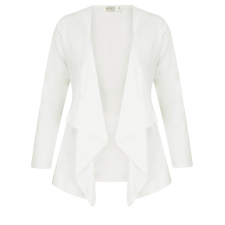 Masai Clothing Essential Itally Cardigan - Off-white