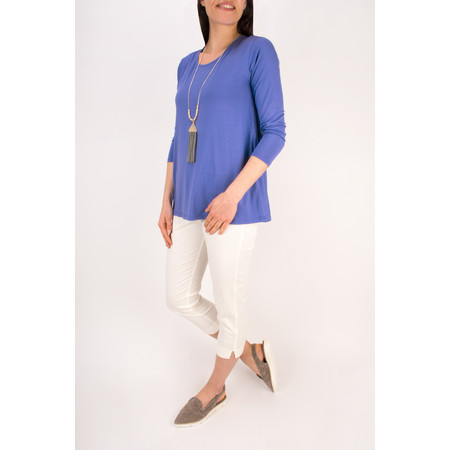 Masai Clothing Dagney A-shape top  - Blue