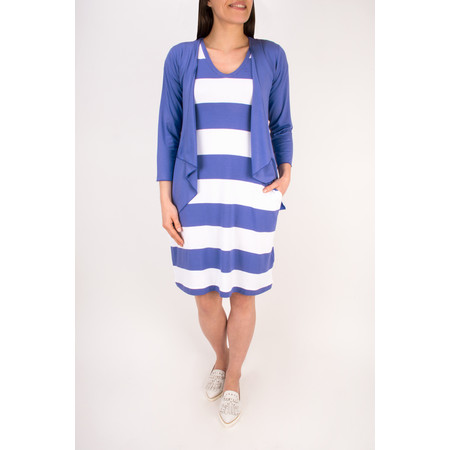 Masai Clothing Gigi wing shaped tunic  - Blue