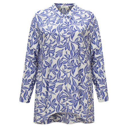 Masai Clothing Ida A-shape blouse  - Blue