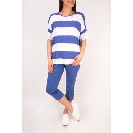Masai Clothing Paba Capri Trousers - Blue