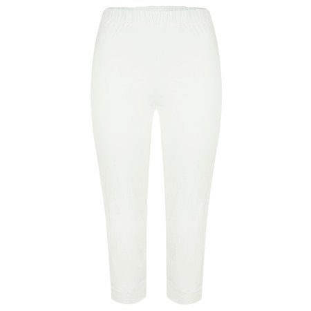 Masai Clothing Paba Capri Trousers - Off-white