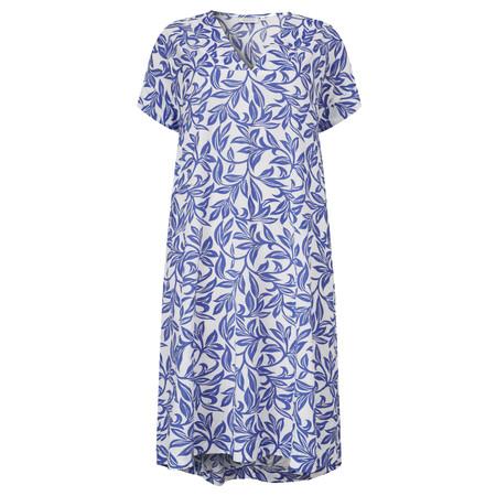 Masai Clothing Nava  A-shape dress - Blue