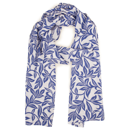 Masai Clothing Floral Blue Along scarf - Blue