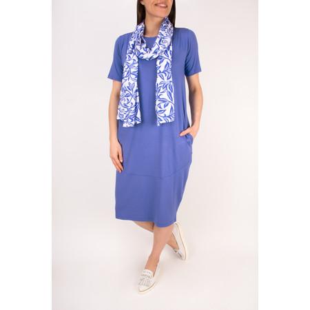 Masai Clothing Floral Blue Along scarf - Blue
