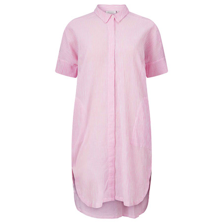 Masai Clothing Cotton Iga Blouse - Pink