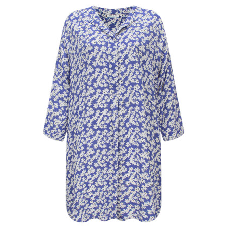 Masai Clothing Ginera Floral Tunic - Blue