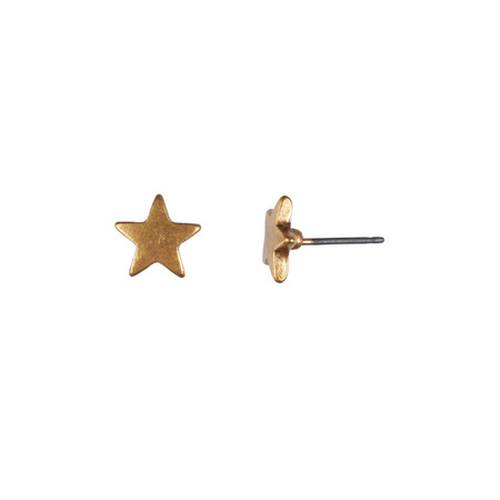 Hult Quist  Star Earrings  - Gold