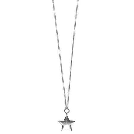 Hult Quist  Star Long Necklace - Metallic