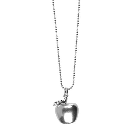 Hult Quist  Apple Long Necklace - Metallic