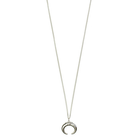 Hult Quist  Horn Long Necklace - Metallic