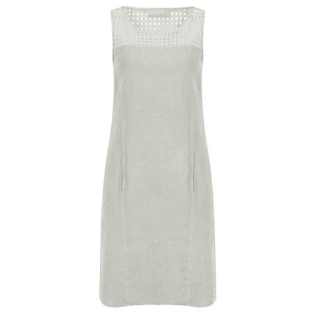 Backstage Kleid Venus Cutout Shift Dress - Grey