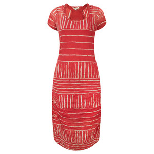 Sandwich Clothing Stripe Print Crinkle Dress