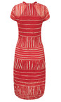 Stripe Print Crinkle Dress additional image