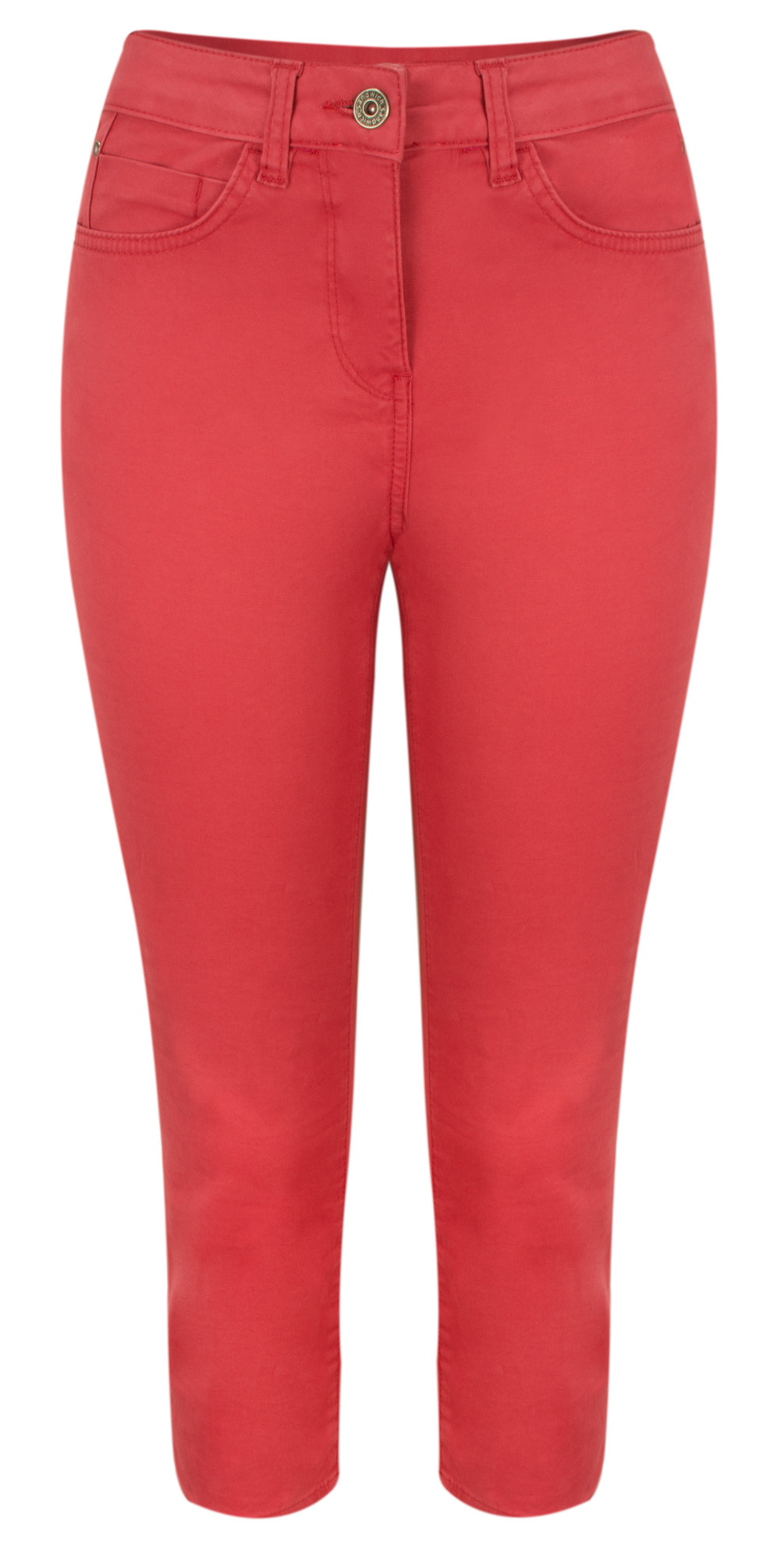 High Waist Skinny Stretch Casual Trouser main image