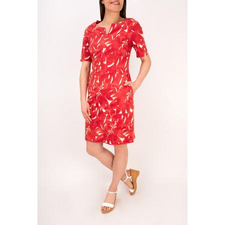 Sandwich Clothing Woven Cotton Print Dress - Pink
