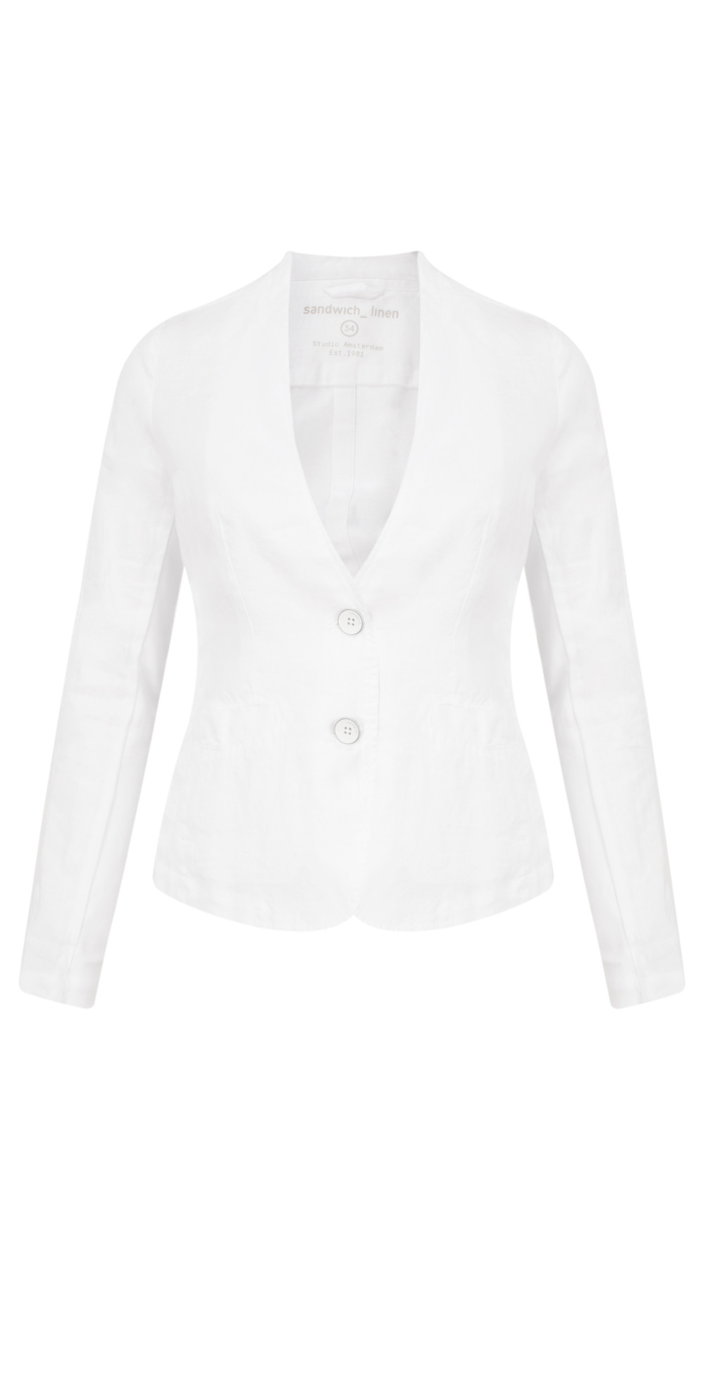 Linen Mix Blazer main image