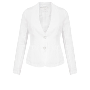 Sandwich Clothing Linen Mix Blazer