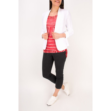 Sandwich Clothing Linen Mix Blazer - White