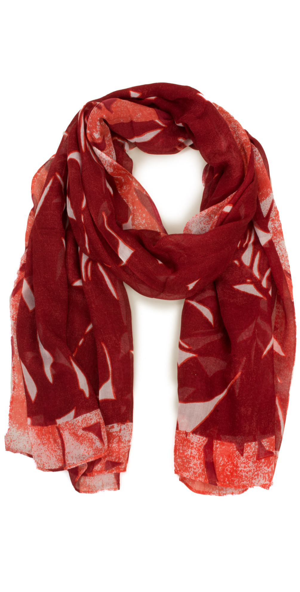 Abstract Print Modal Scarf main image