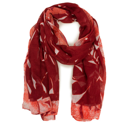 Sandwich Clothing Abstract Print Modal Scarf - Pink