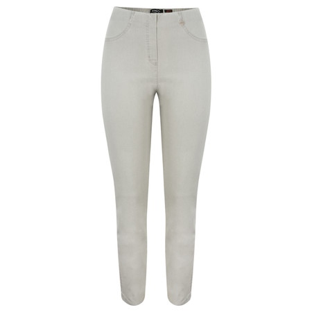Robell Trousers Bella Slim Fit Jean - Grey