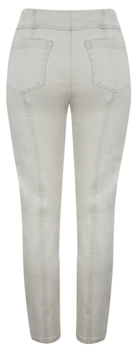Robell  Bella Slim Fit Full Length Jean Light Grey