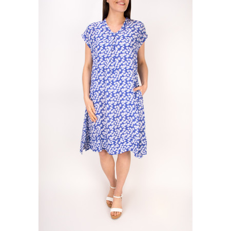 Masai Clothing Nebila Floral Dress - Blue