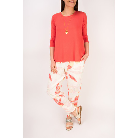 Masai Clothing Dagney A-shape top  - Red