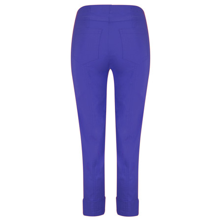 Robell Trousers Bella 7/8 Cropped Trouser  - Royal Blue