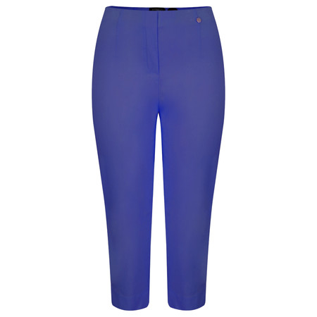 Robell Trousers Marie 07 Cropped Trouser - Royal Blue