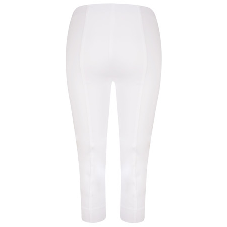 Robell Trousers Rose 07 Slimfit Cropped Trouser - White