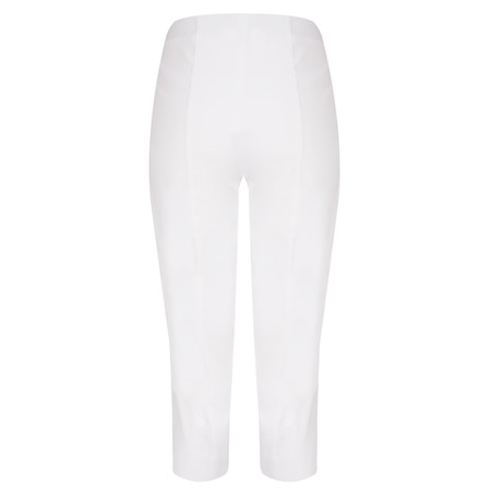 Robell Trousers Marie 07 Cropped Trouser - White