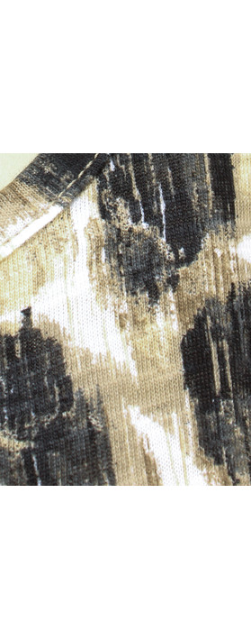 Sandwich Clothing Spot Print Jersey Vest Desert Sand