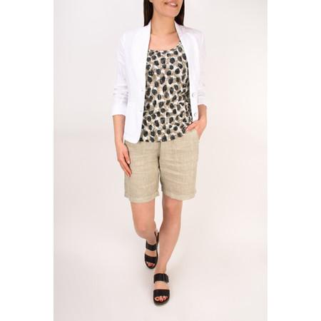 Sandwich Clothing Spot Print Jersey Vest - Beige