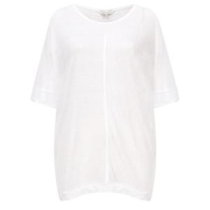 Sandwich Clothing Relaxed Slub Linen Blend T-shirt