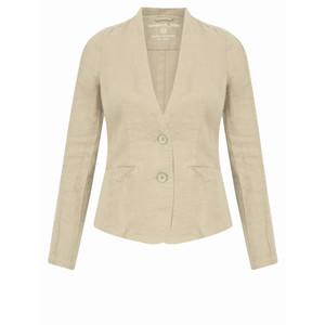 Sandwich Clothing Linen Mix Blazer