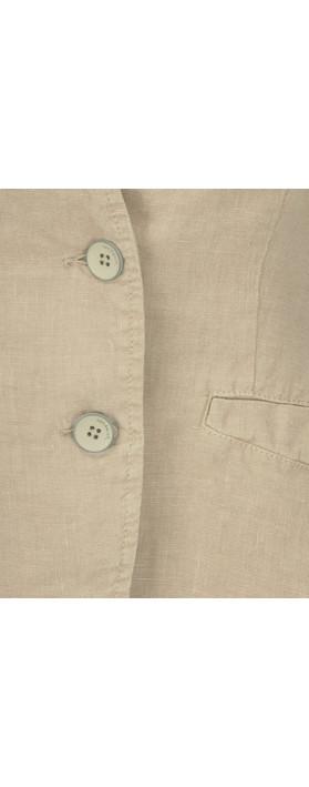 Sandwich Clothing Linen Mix Blazer Desert Sand